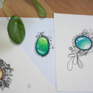 Online workshop edelstenen kleuren